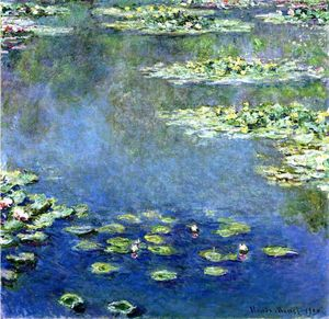 Claude Monet - Water Lilies - (Buy fine Art Reproductions)