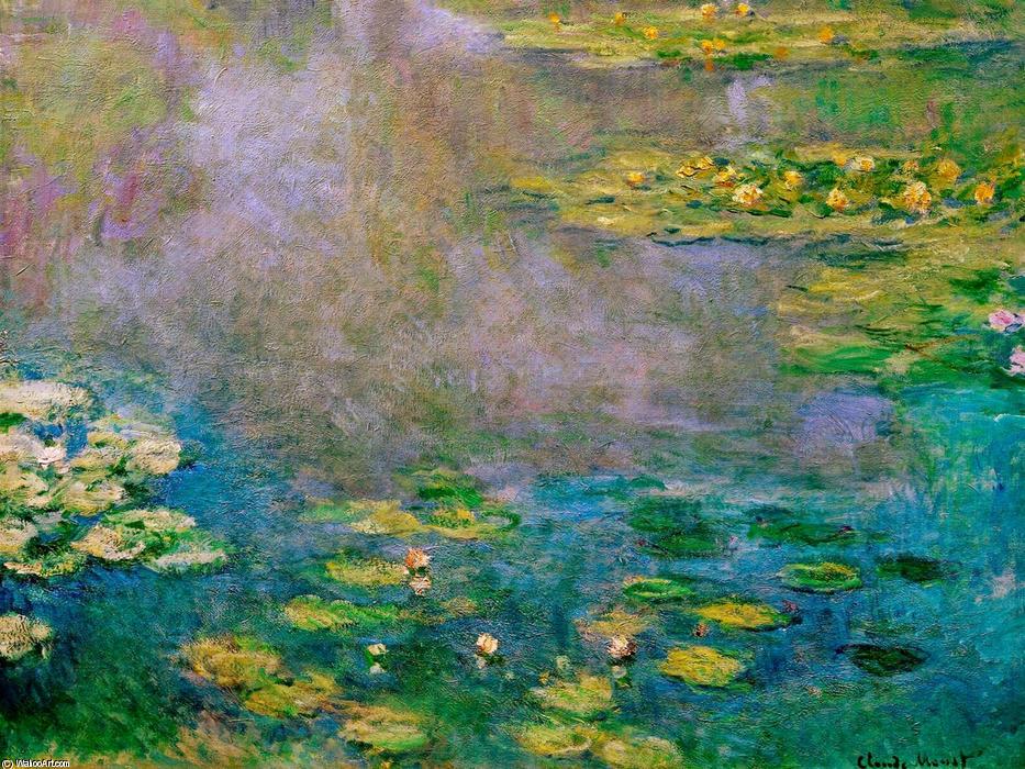 lirios de agua 17, 1906 de Claude Monet (1840-1926, France ...