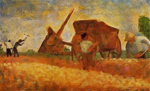 Georges Pierre Seurat - The Stone Breakers