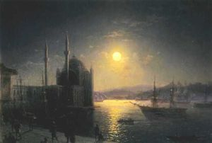 A Lunar night on the Bosphorus