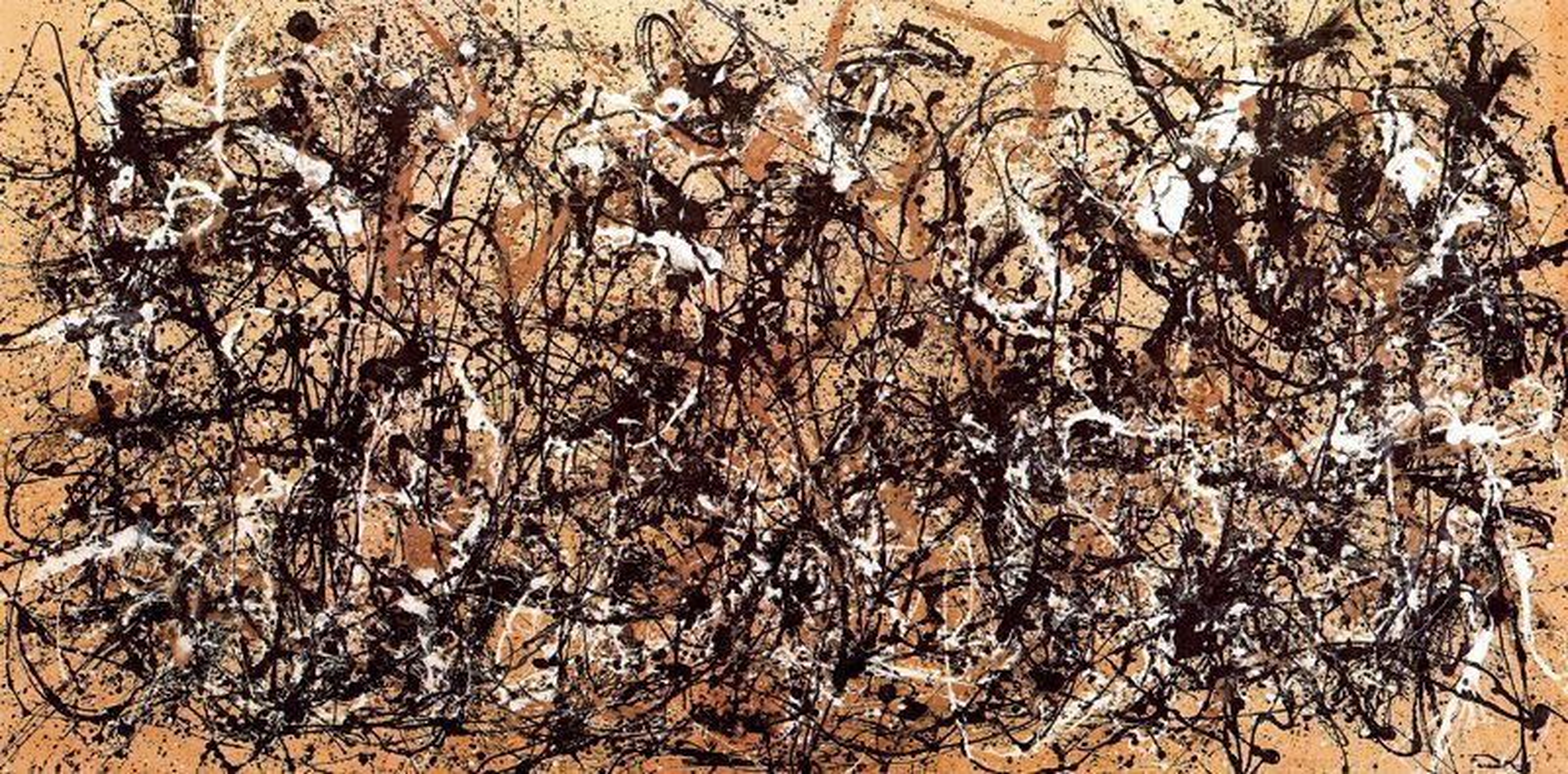 Autumn Rhythm. Number 30, 1950 - Jackson Pollock