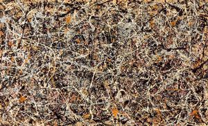 Jackson Pollock - Number 1, 1949 - (Famous paintings reproduction)