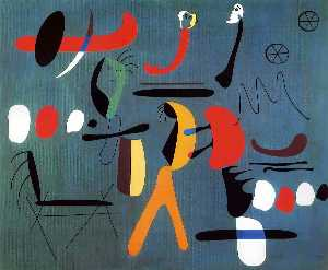 Joan Miro - Painting - (Famous paintings reproduction)