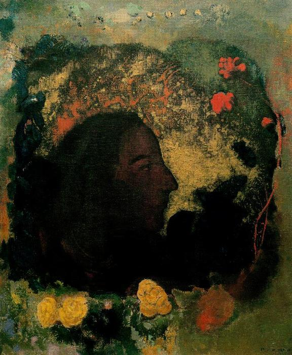 Paul Gauguin by Odilon Redon (1840-1916, France) | Museum Quality Reproductions | WahooArt.com