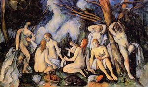 Paul Cezanne - The Large Bathers - (Buy fine Art Reproductions)