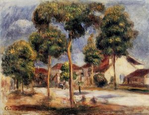Pierre-Auguste Renoir - The Sunny Street - (Famous paintings)