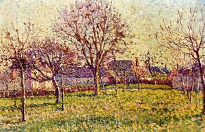 Maximilien Luce - The Orchard at Eragny