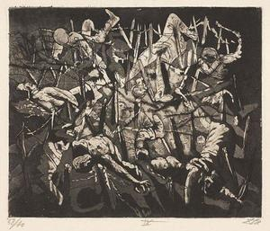 Otto Dix - Dance of death 1917 - (Dead Man's Hill)