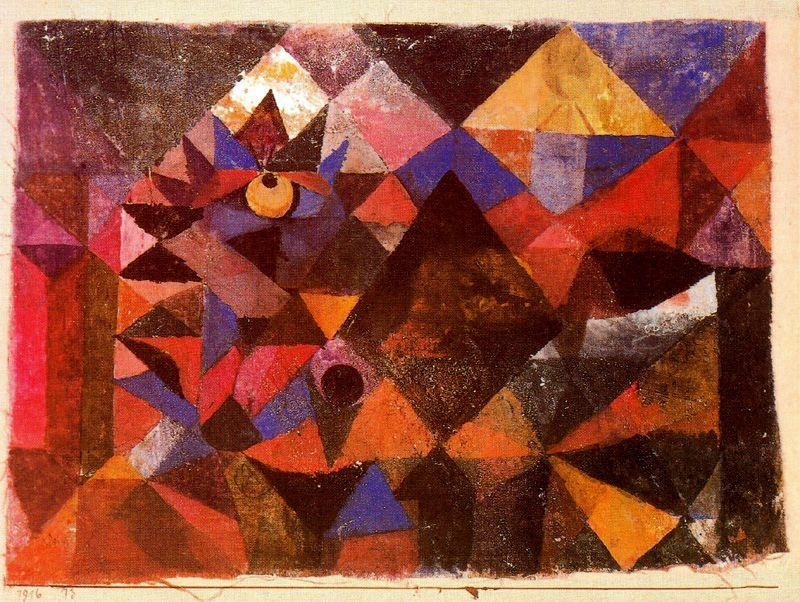 Kakendemoníaco de Paul Klee (1879-1940, Switzerland) | Reproductions De Peintures Paul Klee ...