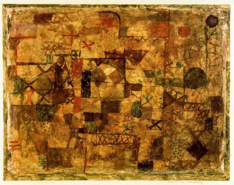 Tappeto souvenir di Paul Klee (1879-1940, Switzerland) | Riproduzioni D'arte Del Museo Paul Klee | WahooArt.com