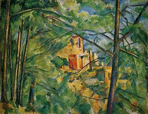 Paul Cezanne - The Chateau Noir