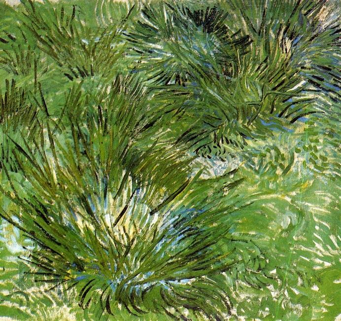 Clumps of Grass - Vincent Van Gogh