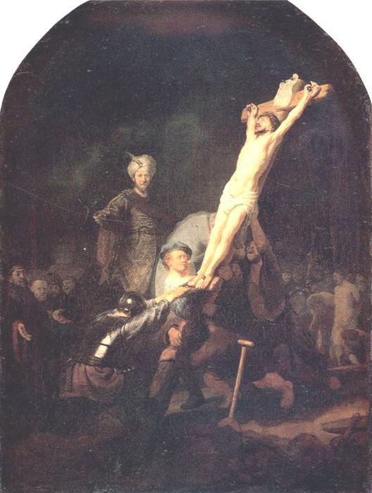 Crucifixion, 1633 By Rembrandt Van Rijn (1606-1669, Netherlands