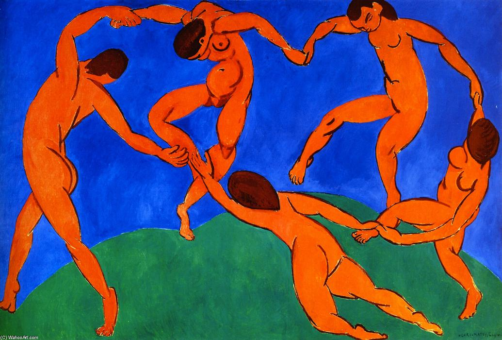 The Dance, 1909 by Henri Matisse (1869-1954, France) |  | WahooArt.com