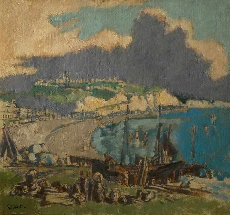 Dover, Kent by Walter Richard Sickert (1860-1942, Germany) | Oil Painting | WahooArt.com