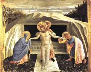 Fra Angelico - Entombment (San Marco Altarpiece)