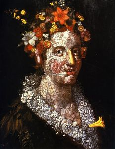 Giuseppe Arcimboldo - Floral Still LIfe - (oil painting reproductions)