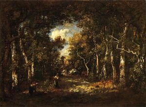 The Forest of Fountainebleau