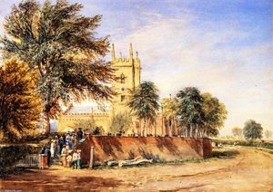 David Cox - Handsworth Old Church, Birmingham