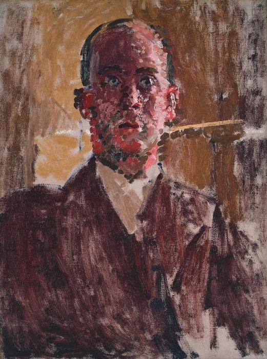 Harold Gilman, 1912 by Walter Richard Sickert (1860-1942, Germany) | Art Reproductions Walter Richard Sickert | WahooArt.com