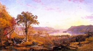 Jasper Francis Cropsey - Indian Summer