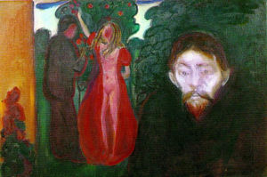Edvard Munch - Jealousy - (oil painting reproductions)
