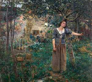 Jules Bastien Lepage - Joan of Arc