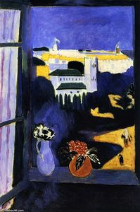 Henri Matisse - Landscape viewed from a Window - (Famous paintings reproduction)