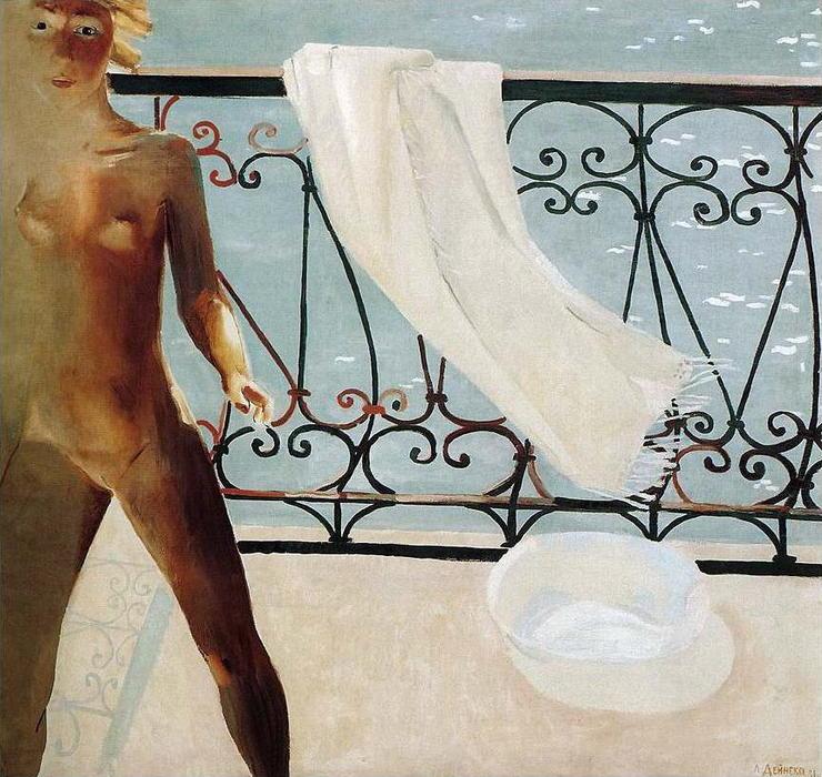 Erotika Aleksandr-Deyneka-On-the-balcony