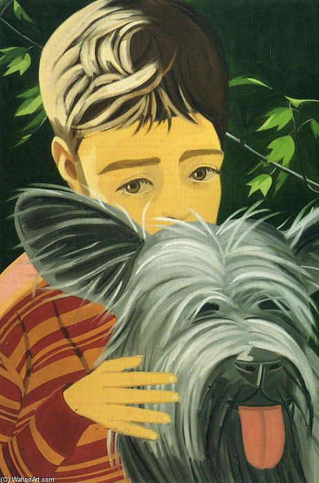 Vincent And Sunny by Alex Katz |  | WahooArt.com
