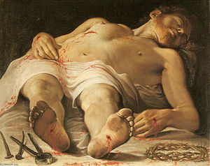 Annibale Carracci - The Dead Christ