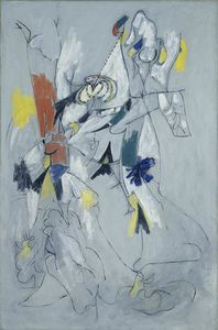 Arshile Gorky - Waterfall - (Famous paintings)