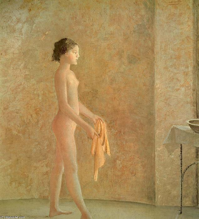 Nude in Profile, 1975 by Balthus (Balthasar Klossowski) (1908-2001, France)    Famous Paintings Reproductions ...