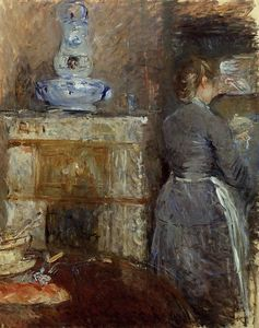 Berthe Morisot - The Rouart's Dining Room