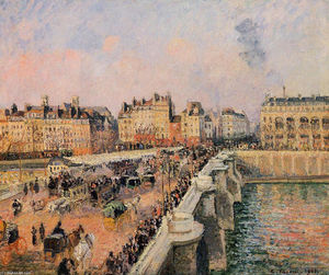 Camille Pissarro - The Pont Neuf, Afternoon