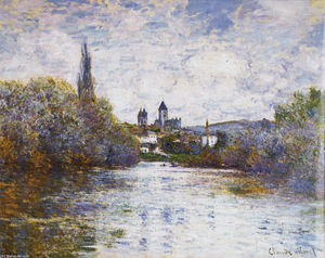 Claude Monet - Vetheuil, The Small Arm of the Seine