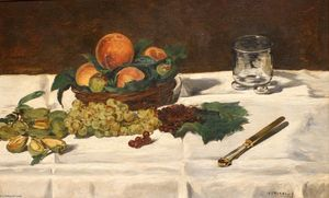Still Life: Fruits on a Table