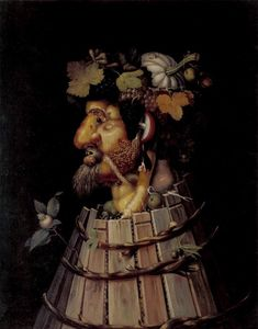 Giuseppe Arcimboldo - Autumn - (oil painting reproductions)