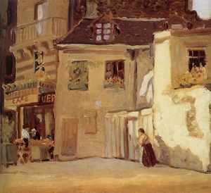 The cafe of Paris corner