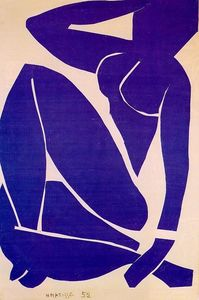 Henri Matisse - Blue Nude III - (paintings reproductions)