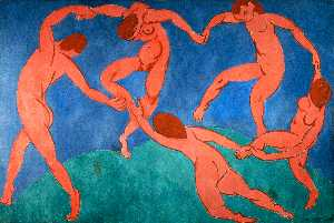 Henri Matisse - Dance (II) - (Famous paintings)
