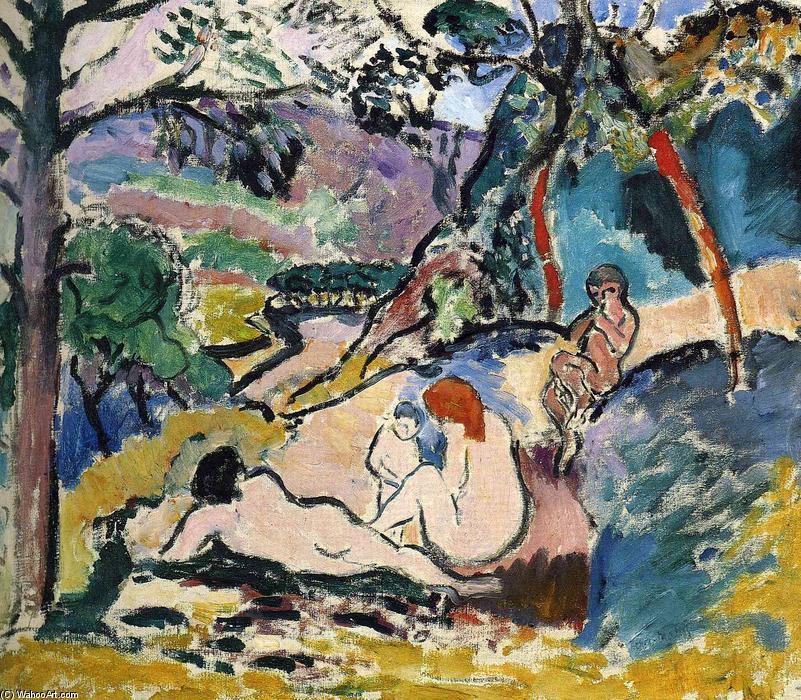 Pastoral, 1905 de Henri Matisse (1869-1954, France)     WahooArt.com