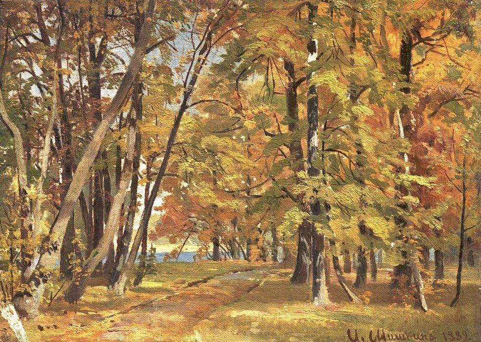 """И. Шишкин """"Ранняя осень"""""""