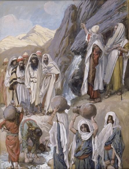 Moses Strikes the Rock, 1902 by James Jacques Joseph Tissot