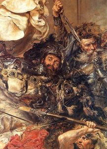 Jan Matejko - Battle of Grunwald (detail) (10) - (Buy fine Art Reproductions)