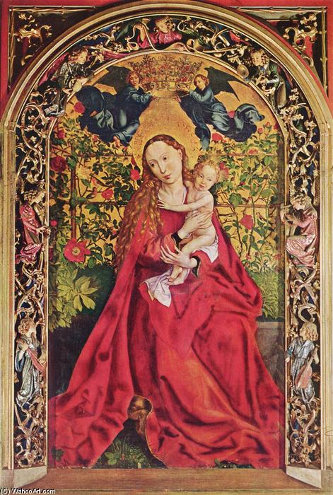 Madonna of the Rose Bower - Martin Schongauer