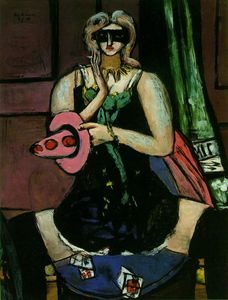 Max Beckmann - Columbine - (Famous paintings)