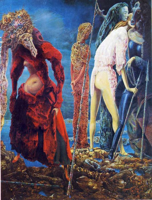 el antipapa, 1942 de max ernst (1891-1976, germany) | arte de la