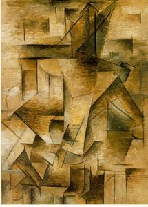 Pablo Picasso - Guitar player - (Famous paintings)