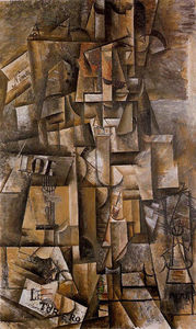 Pablo Picasso - The aficionado (The torero) - (oil painting reproductions)